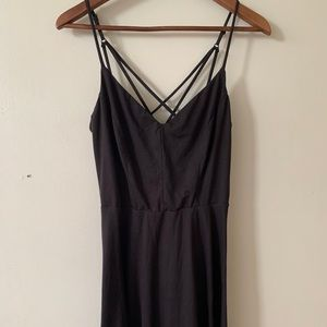 Black dress size L - Abound